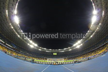 Sports : Panoramic view of the football stadium #12429