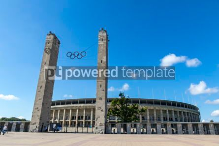 Sports : Olympiastadion (Olympic Stadium) in Berlin Germany #12437
