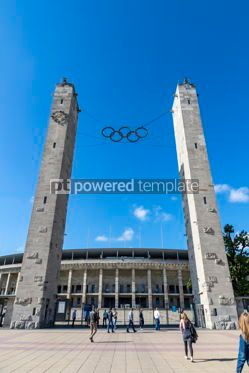 Sports : Olympiastadion (Olympic Stadium) in Berlin Germany #12438