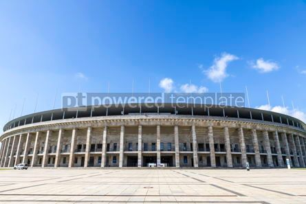 Sports : Olympiastadion (Olympic Stadium) in Berlin Germany #12439
