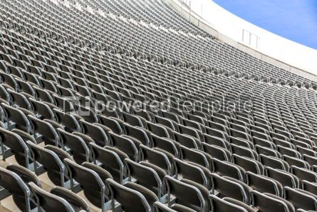 Sports : Empty tribunes of the stadium #12440