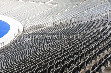 Sports : Empty tribunes of the stadium #12441