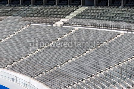 Sports : Empty tribunes of the stadium #12442