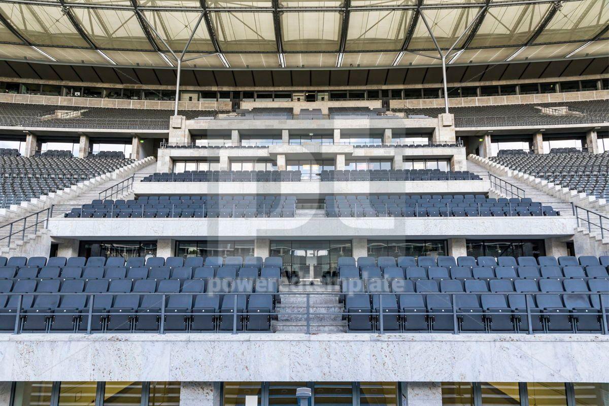 Empty tribunes of the stadium, 12448, Sports  — PoweredTemplate.com
