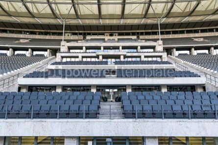 Sports : Empty tribunes of the stadium #12448