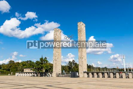 Sports : Olympiastadion (Olympic Stadium) in Berlin Germany #12449