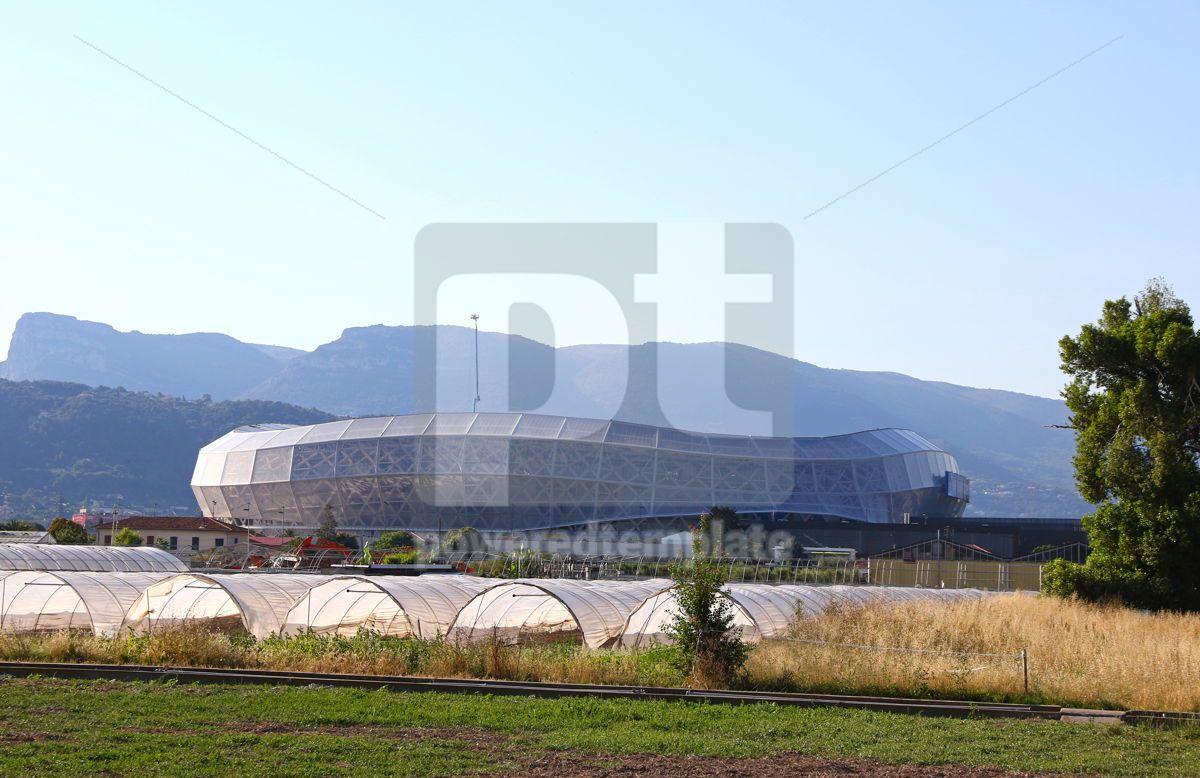 Allianz Riviera stadium in Nice France, 12452, Architecture  — PoweredTemplate.com