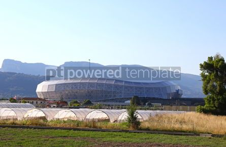 Architecture : Allianz Riviera stadium in Nice France #12452
