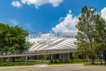 Architecture : Nagyerdei Stadion in Debrecen city Hungary #12457