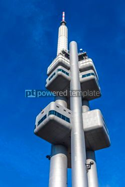 Architecture : Zizkov Television Tower in Prague Czech Republic #12479