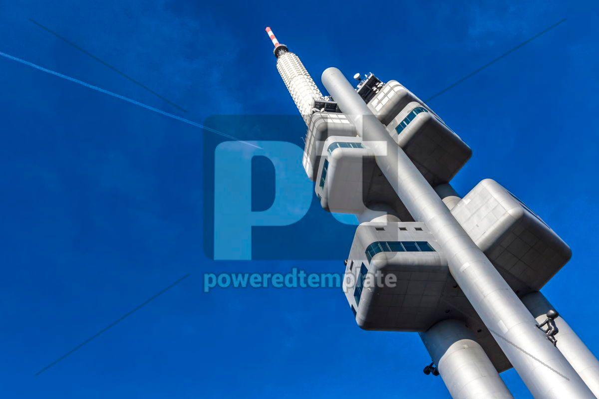 Zizkov Television Tower in Prague Czech Republic, 12480, Architecture  — PoweredTemplate.com