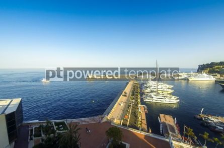 Transportation: Sea port of Monte Carlo Monaco #12494