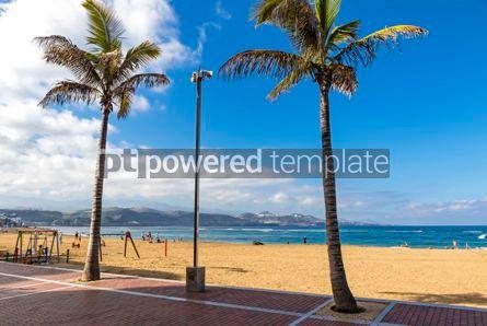Nature: Las Canteras Beach in Las Palmas de Gran Canaria Spain #12511