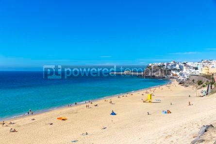 Nature: Morro Jable beach Fuerteventura island Canary Islands Spain #12515