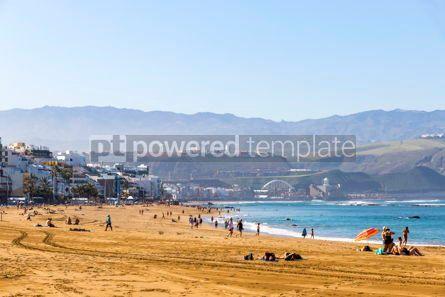 Nature: Las Canteras Beach in Las Palmas de Gran Canaria Spain #12516