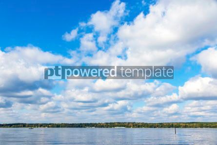 Nature: Autumn view of Wannsee lake in Berlin Germany #12527