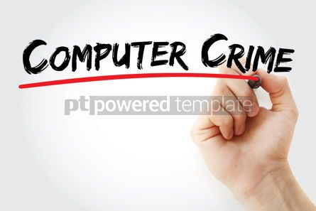 Business: Computer crime text with marker #12542