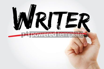 Business: Writer text with marker #12576