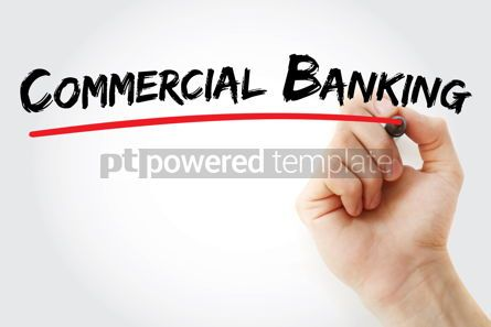 Business: Commercial Banking text with marker #12617