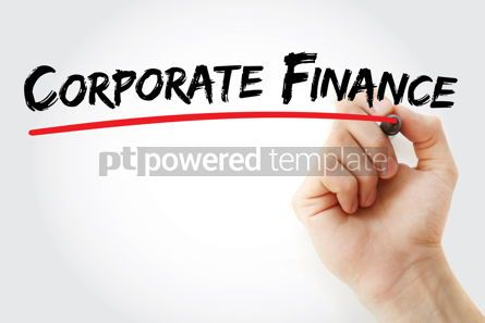 Business: Corporate finance text with marker #12618