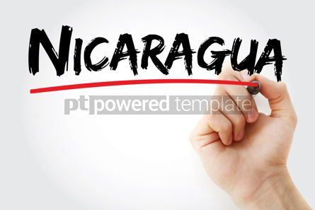 Business: Nicaragua text with marker #12630