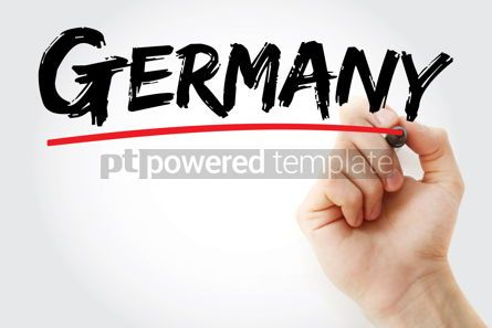 Business: Germany text with marker #12649