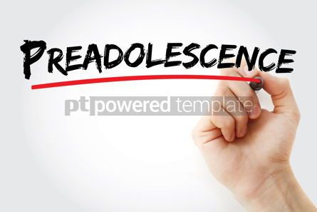 Business: Preadolescence text with marker #12691
