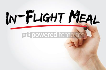 Business: In-Flight Meal text with marker #12705