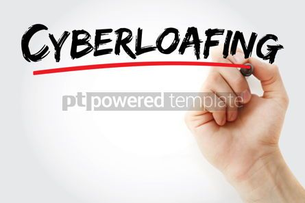 Business: Cyberloafing text with marker #12763