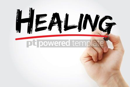 Business: Healing text with marker #12783