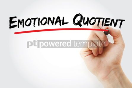 Business: Emotional Quotient text with marker #12805