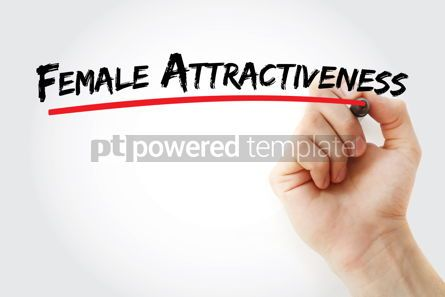 Business: Female Attractiveness text with marker #12814