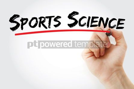 Business: Sports Science text with marker #12871