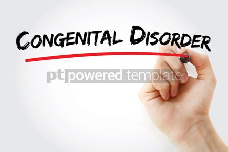 Business: Congenital disorder text with marker #12873