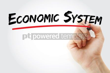 Business: Economic system text with marker #12890
