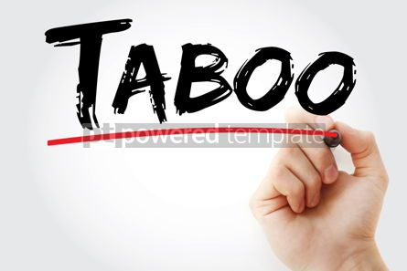 Business: Taboo text with marker #12891