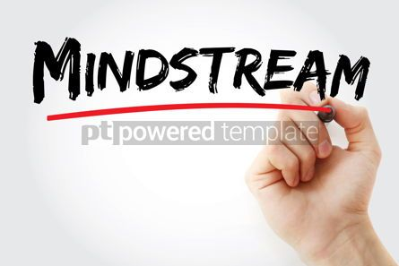 Business: Mindstream text with marker #12899