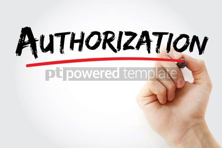 Business: Authorization text with marker #12909