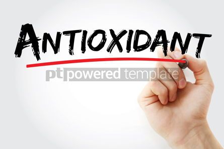 Business: Antioxidant text with marker #12911