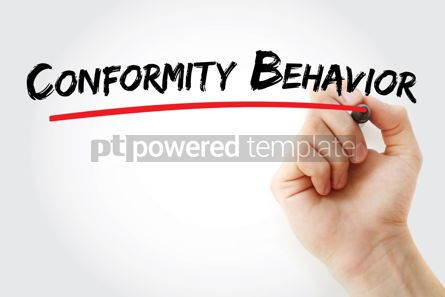 Business: Conformity Behavior text with marker #12921