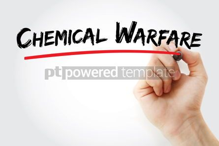 Business: Chemical Warfare text with marker #12931