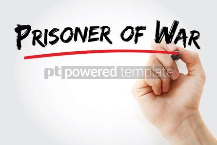Business: Prisoner of War text with marker #12933