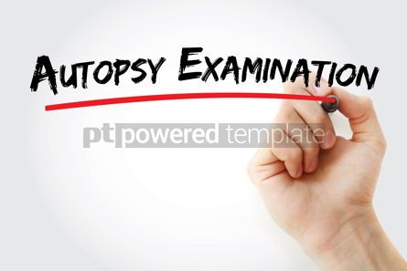 Business: Autopsy examination text with marker #12938
