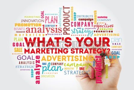 Business: What's Your Marketing Strategy word cloud collage #12950