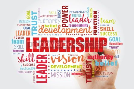 Business: LEADERSHIP word cloud collage #12951