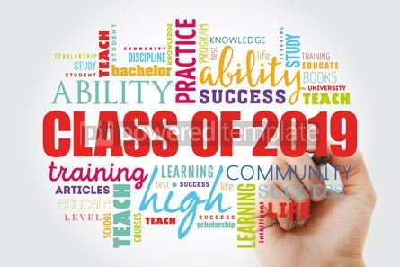 Business: CLASS OF 2019 word cloud collage #12978