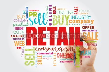 Business: Retail word cloud collage #12986