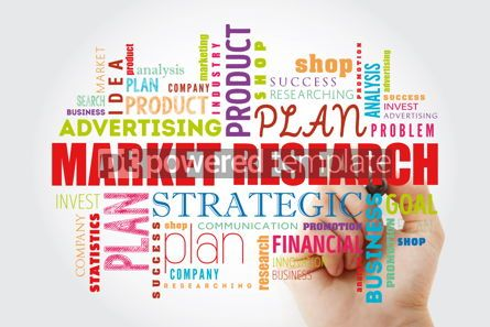 Business: Market research word cloud collage #12992