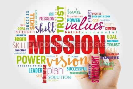 Business: MISSION word cloud collage #12996