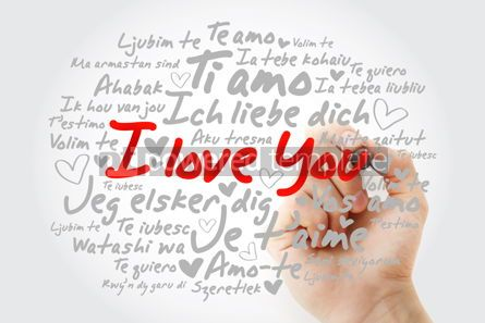 "Business: love words ""I love you"" in different languages #13005"